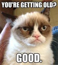 Grumpy cat small