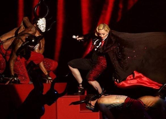 Madonna falls